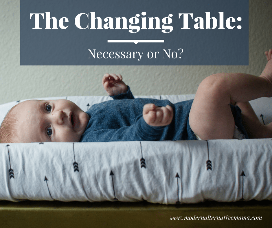 The Changing Table: Necessary Or No?