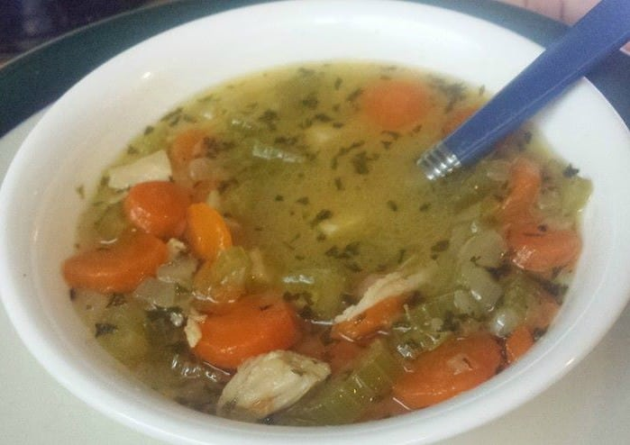 chicken soup edit