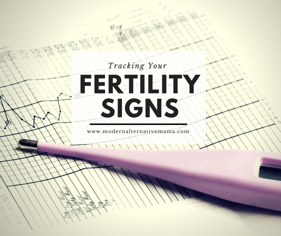 Tracking Your Fertility Signs - Modern Alternative Mama