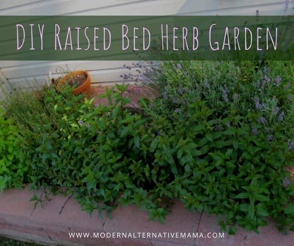 DIY Raised Bed Herb Garden