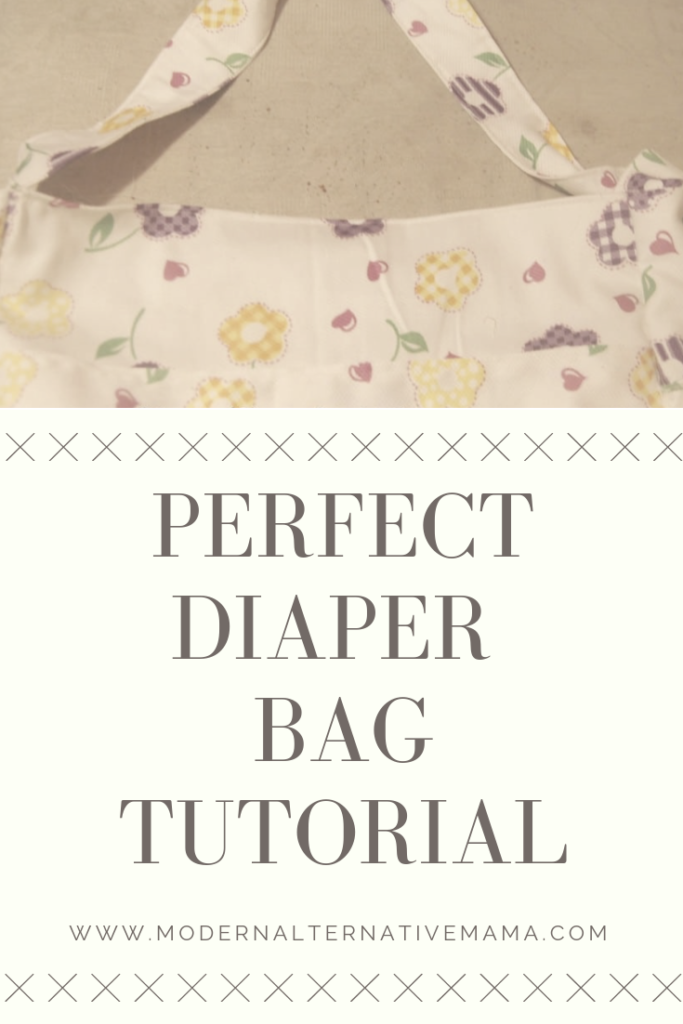 perfect diaper bag tutorial