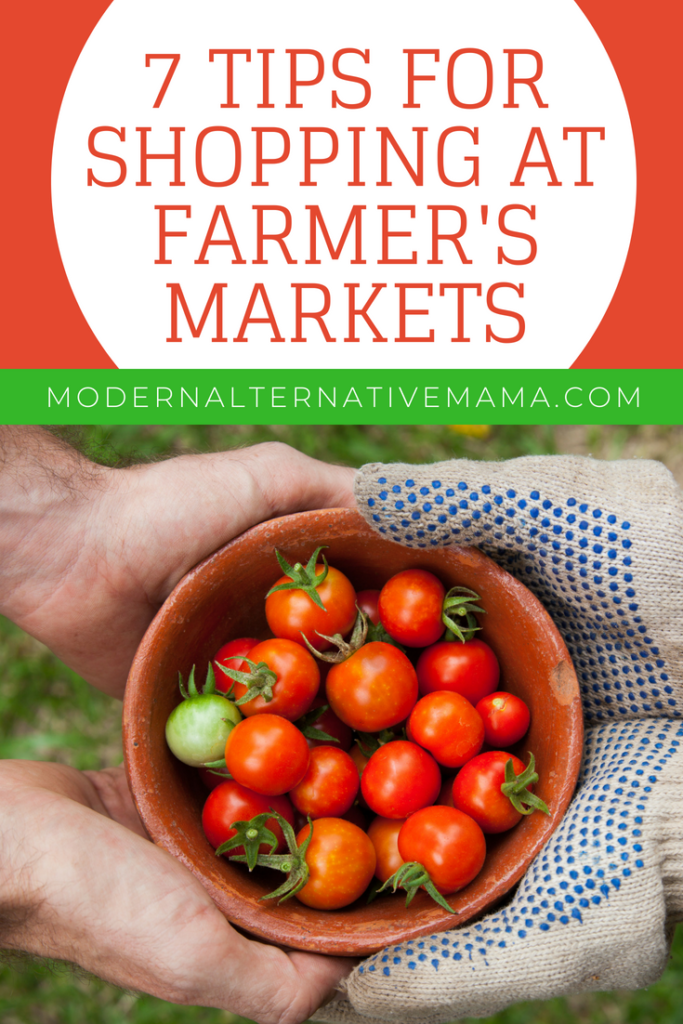 7 Tips for Shopping at Farmer's Markets