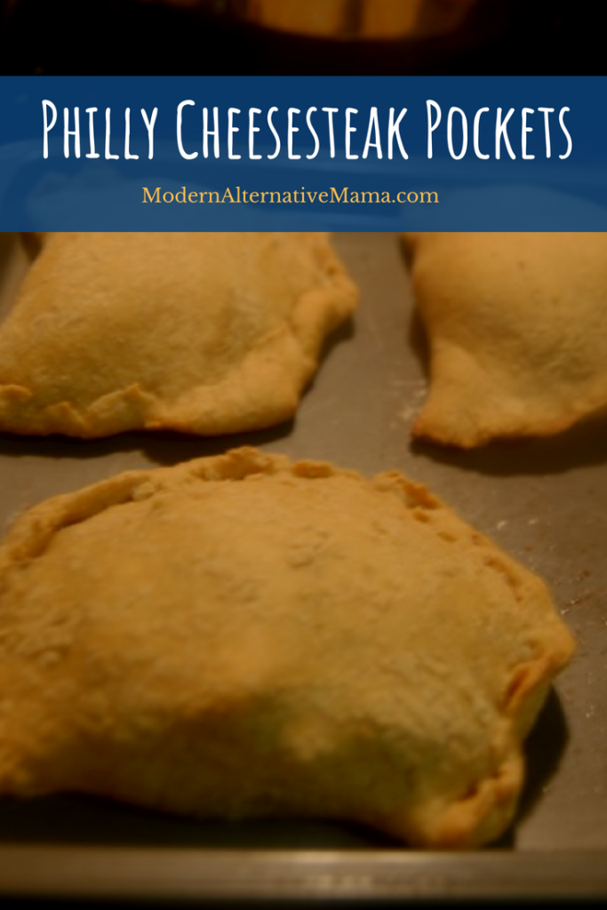 Philly Cheesesteak Pockets