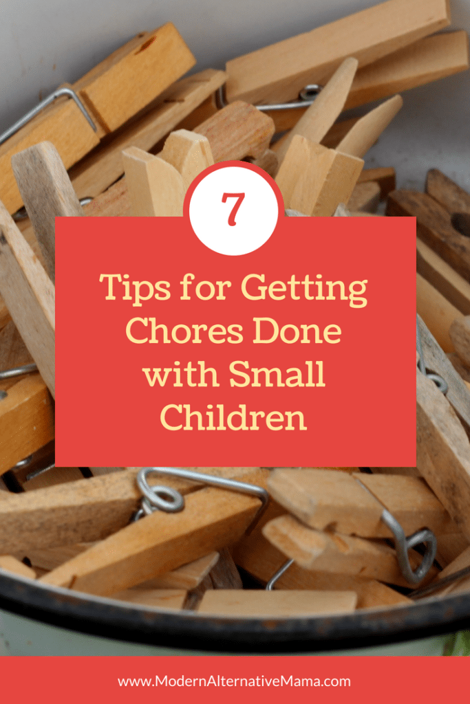 chores with small children