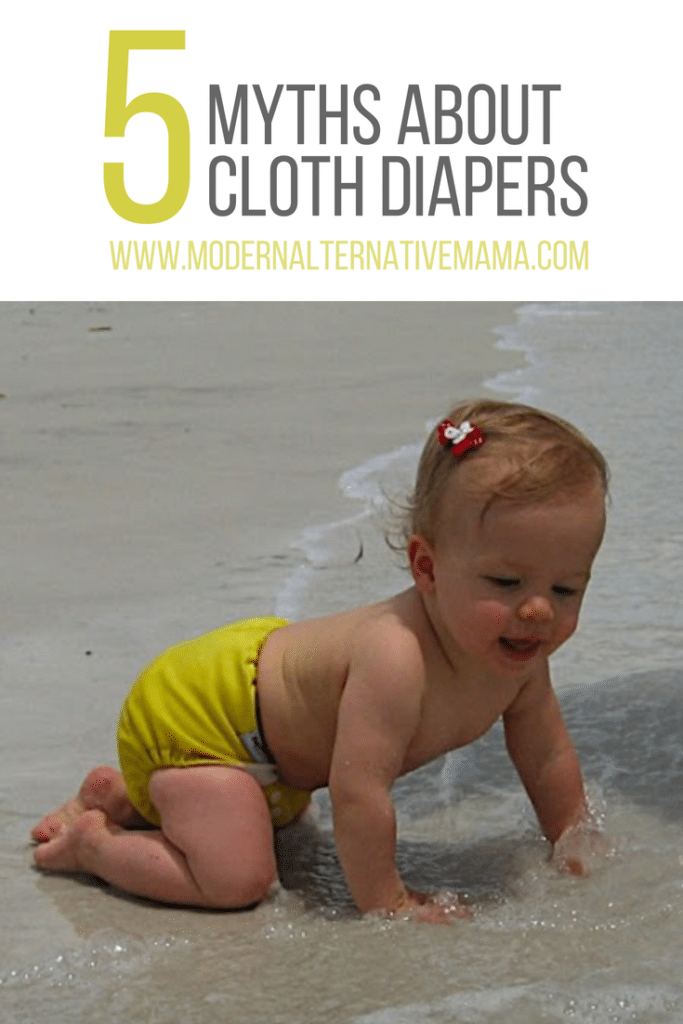 5 Myths about Cloth Diapers