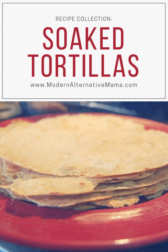 soaked tortillas