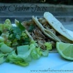 Recipe Collection: Simple Chicken Tacos {Guest Post}
