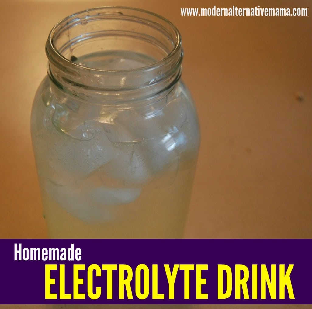 Recipe Collection: Electrolyte Drink (Sports Drink Replacement) - Modern Alternative Mama