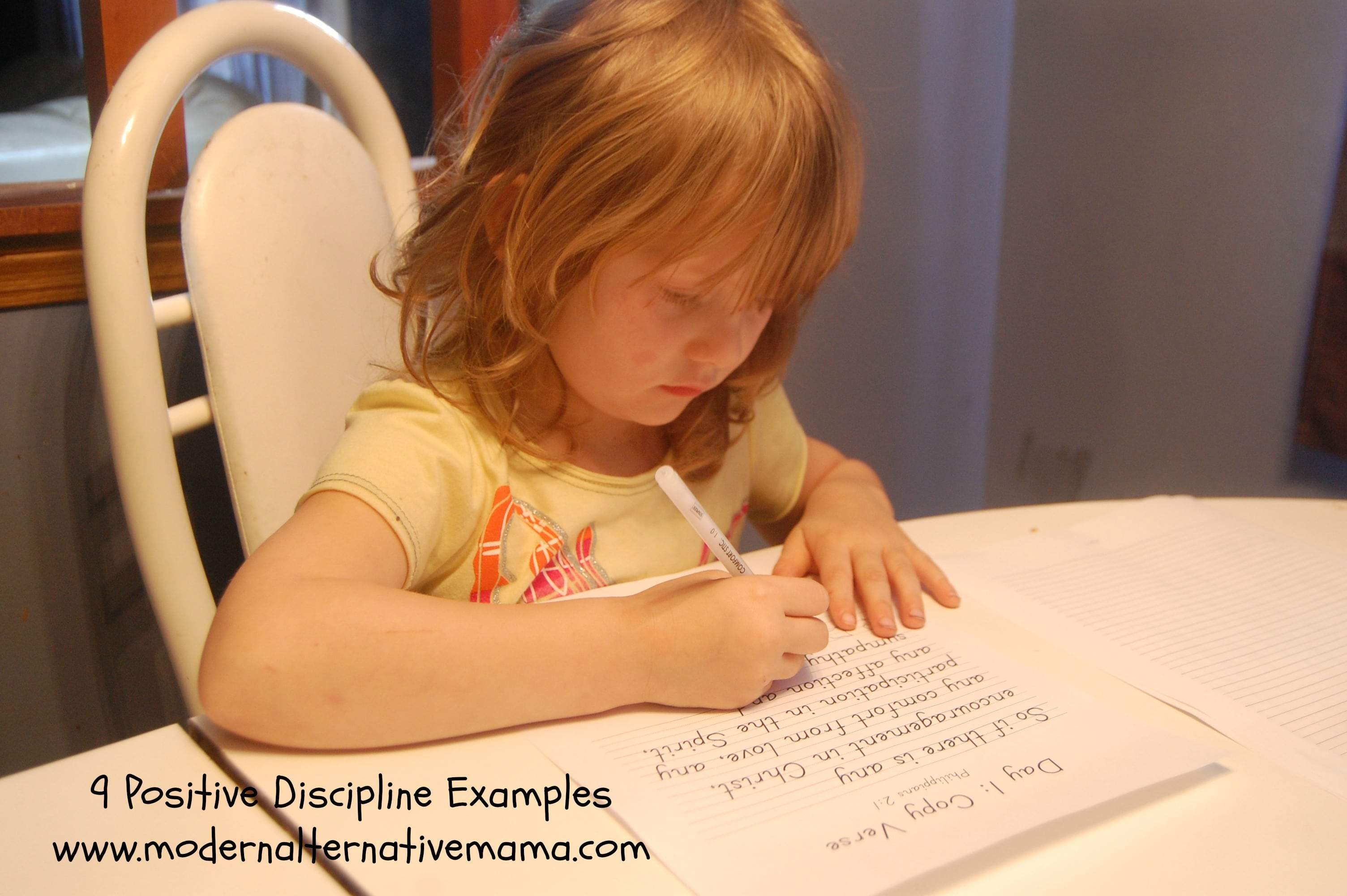 examples of positive discipline in the classroom