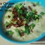 Recipe Collection: Creamy Chicken Broccoli Baked Potato Soup