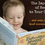 The Importance of Reading to Your Children and Some Fall-Themed Book Recommendations