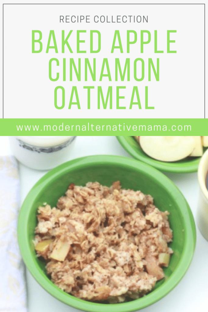 Baked Apple Cinnamon Oatmeal {Guest Post}