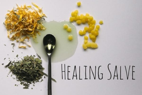 Make Your Own Herbal Healing Salves on Modern Alternative Mama
