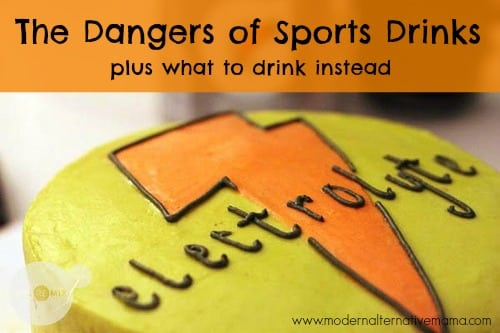 dangers of sports drinks