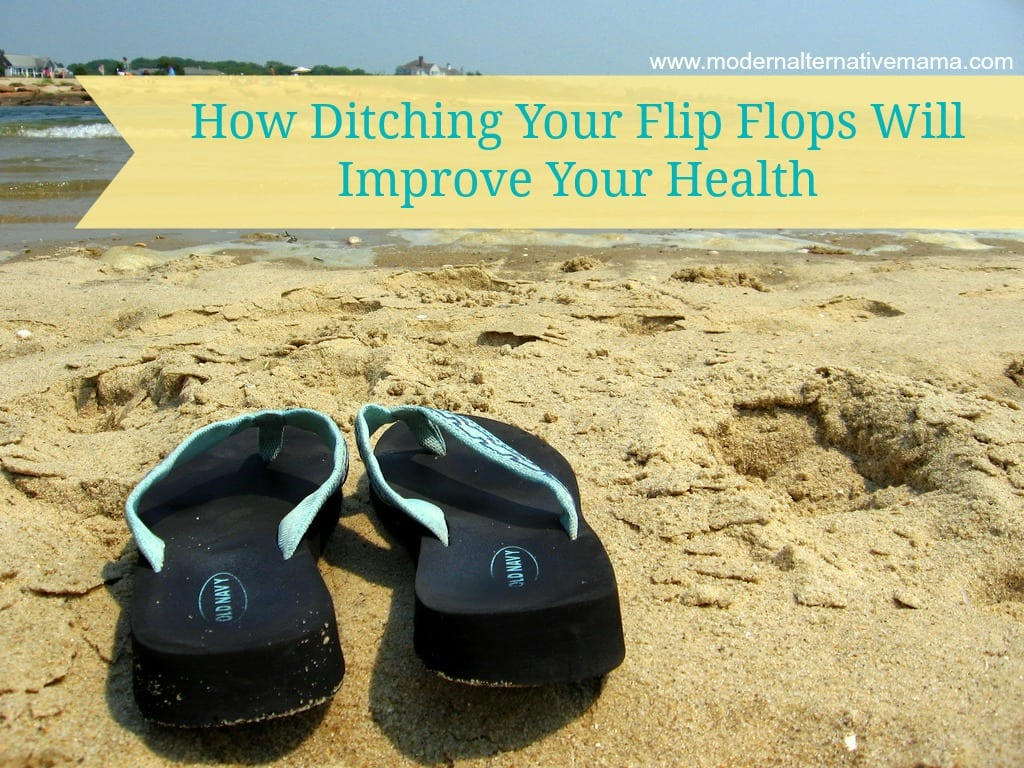 ditching your flip flops