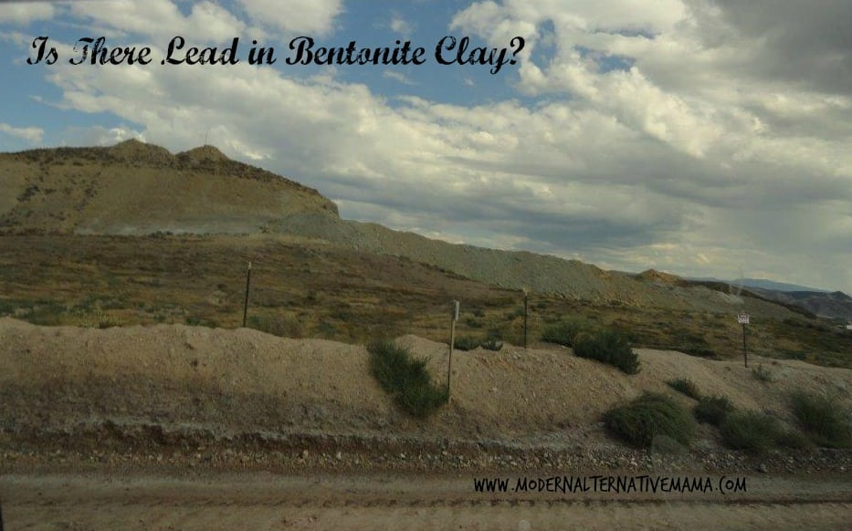 lead in bentonite clay