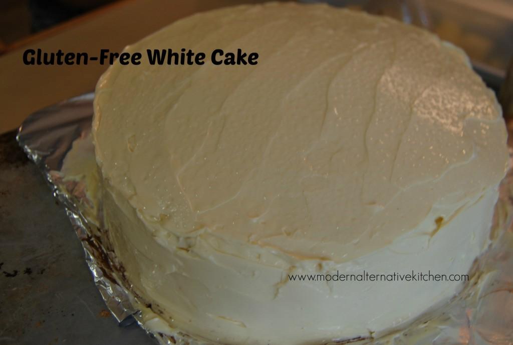 GF white cake