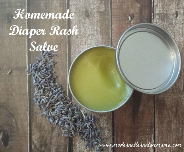 Homemade Diaper Rash Salve