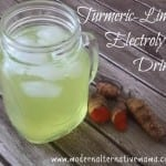 Turmeric-Lime Electrolyte Drink