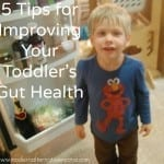 toddler's gut health