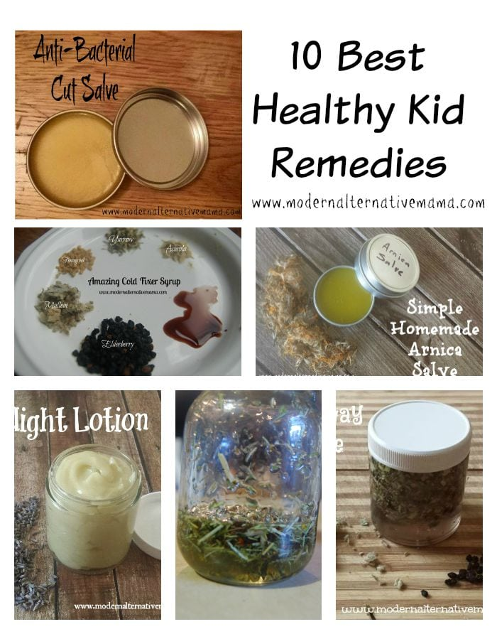 healthy kid remedies