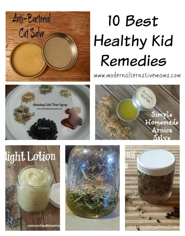 healthy kid remedies