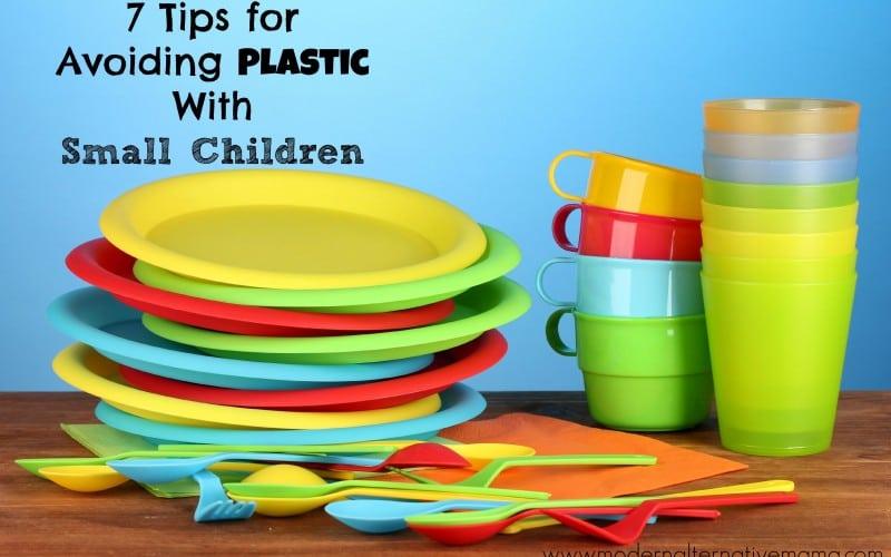 7 Tips for Avoiding Plastic With Small Children