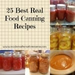 best real food canning recipes