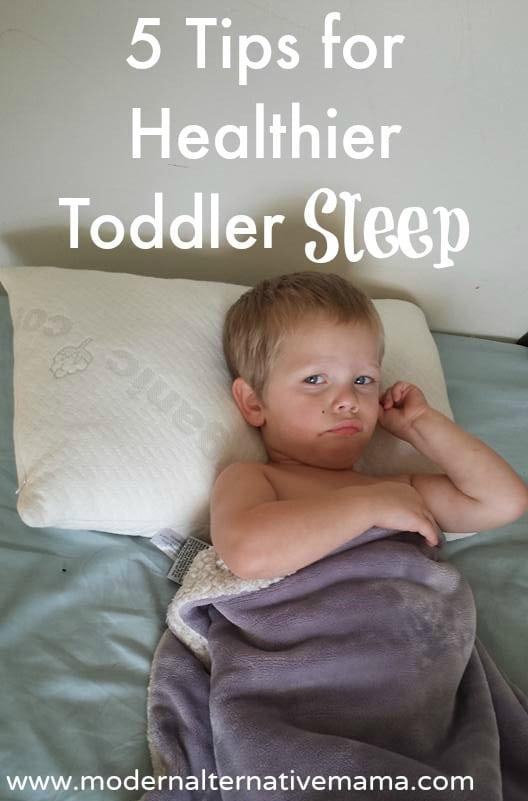 5 tips for healthier toddler sleep