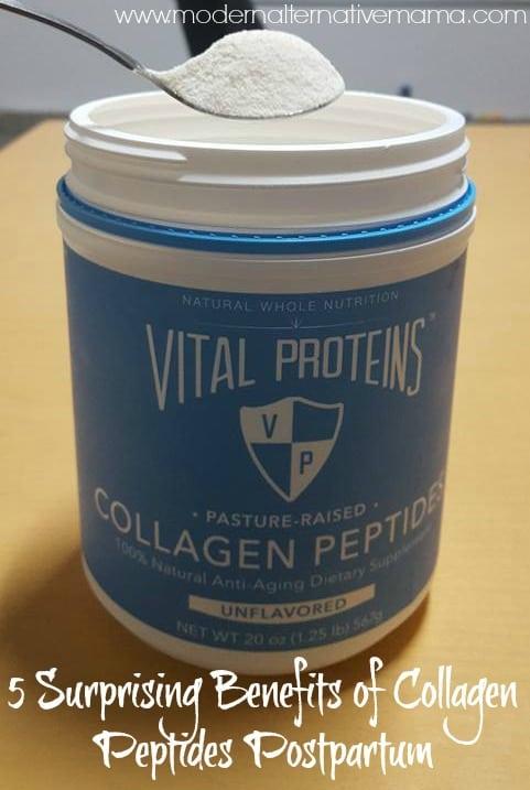 5 Surprising Benefits of Collagen Peptides Postpartum pinterest