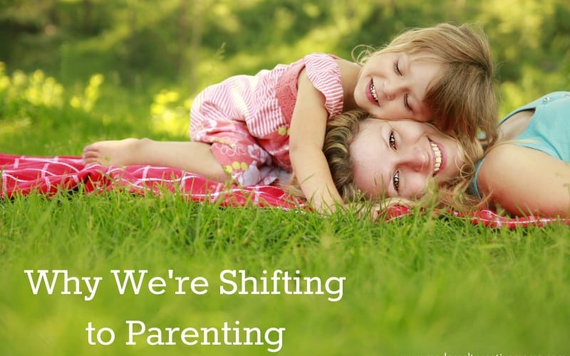 Why We're Shifting to Parenting