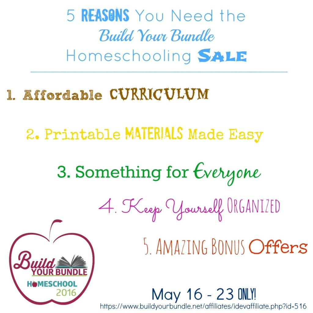 5 reasons you need the build your bundle homeschooling sale square