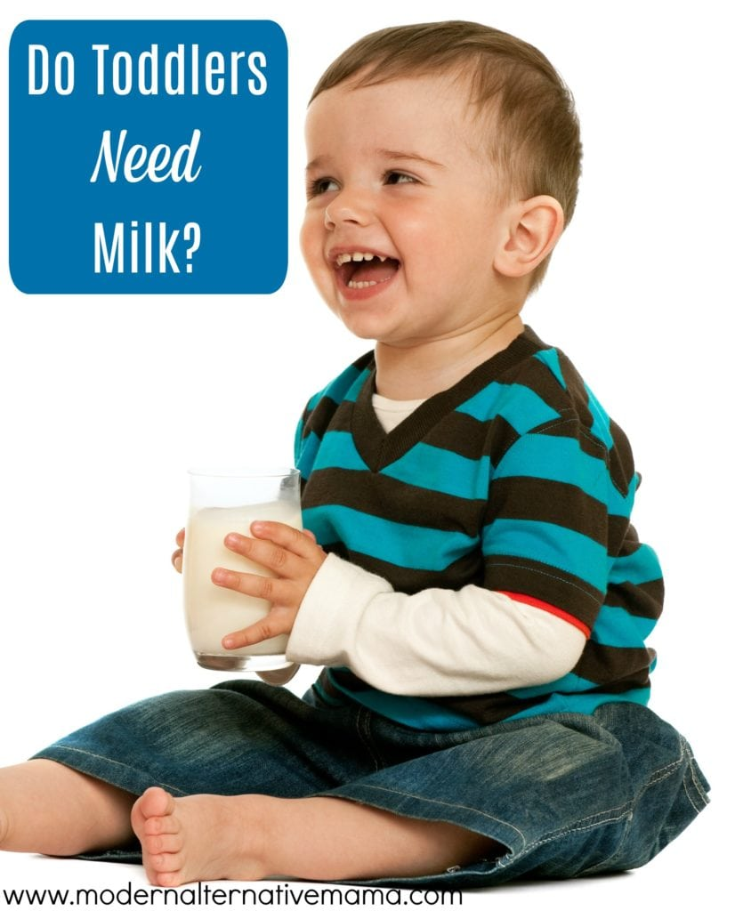 Do Toddlers Need Milk