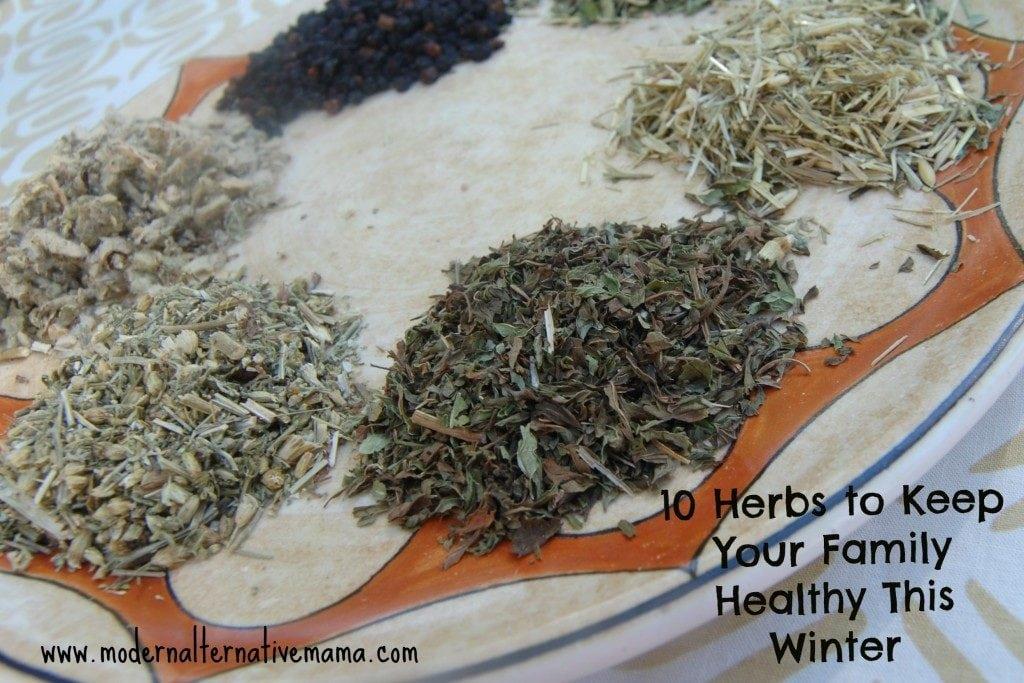 10 herbs healthy