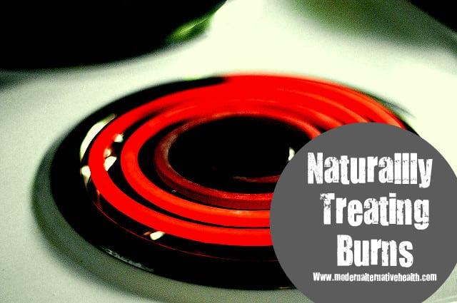 Naturally Treating Burns