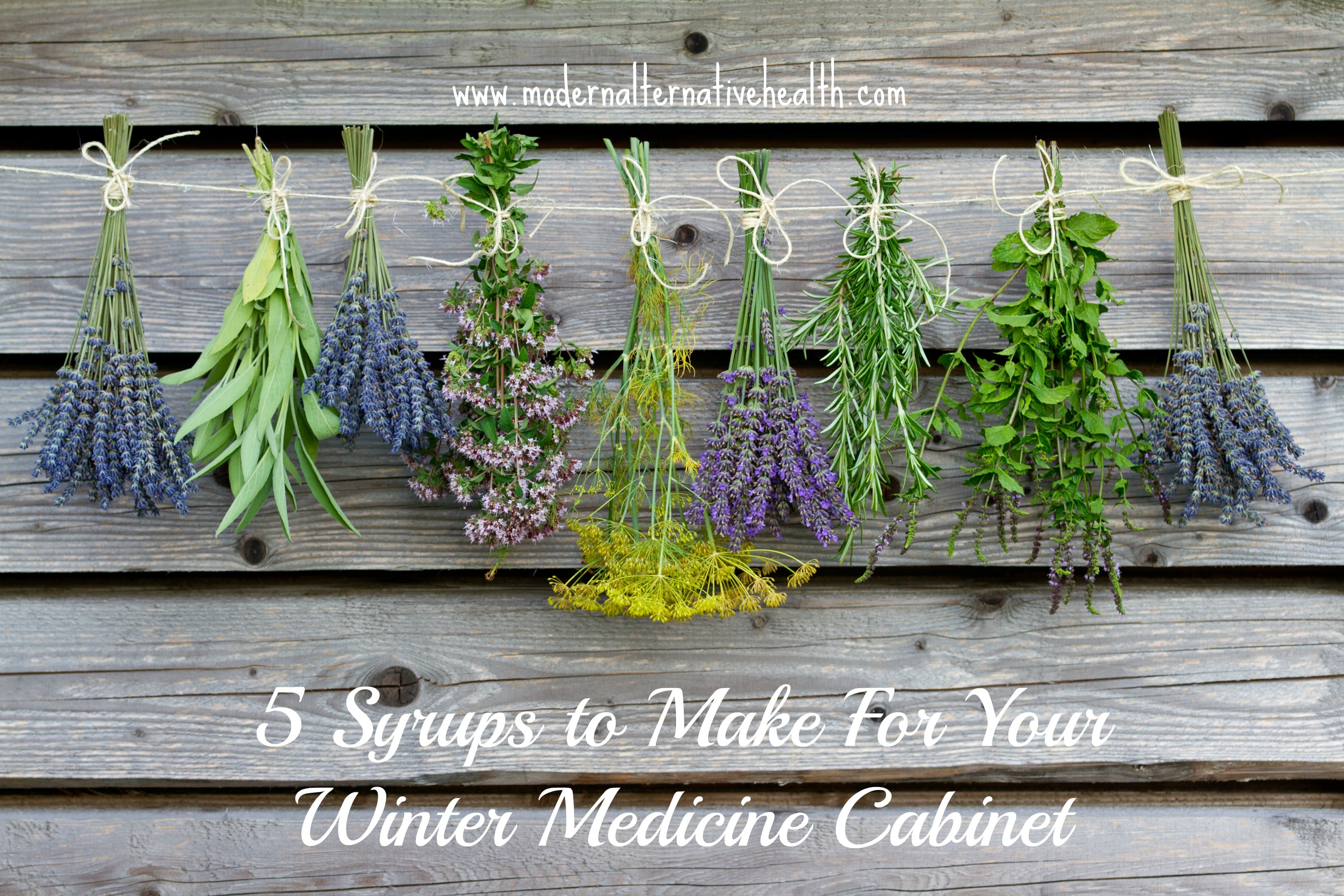 5 syrups to make for your winter medicine cabinet