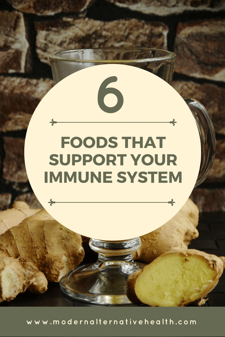 Six Foods that Support Your Immune System