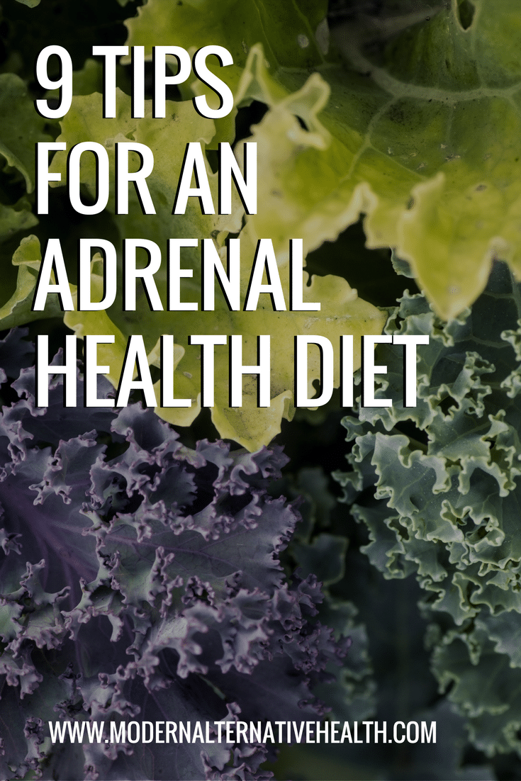 9 Tips for an Adrenal Health Diet-2
