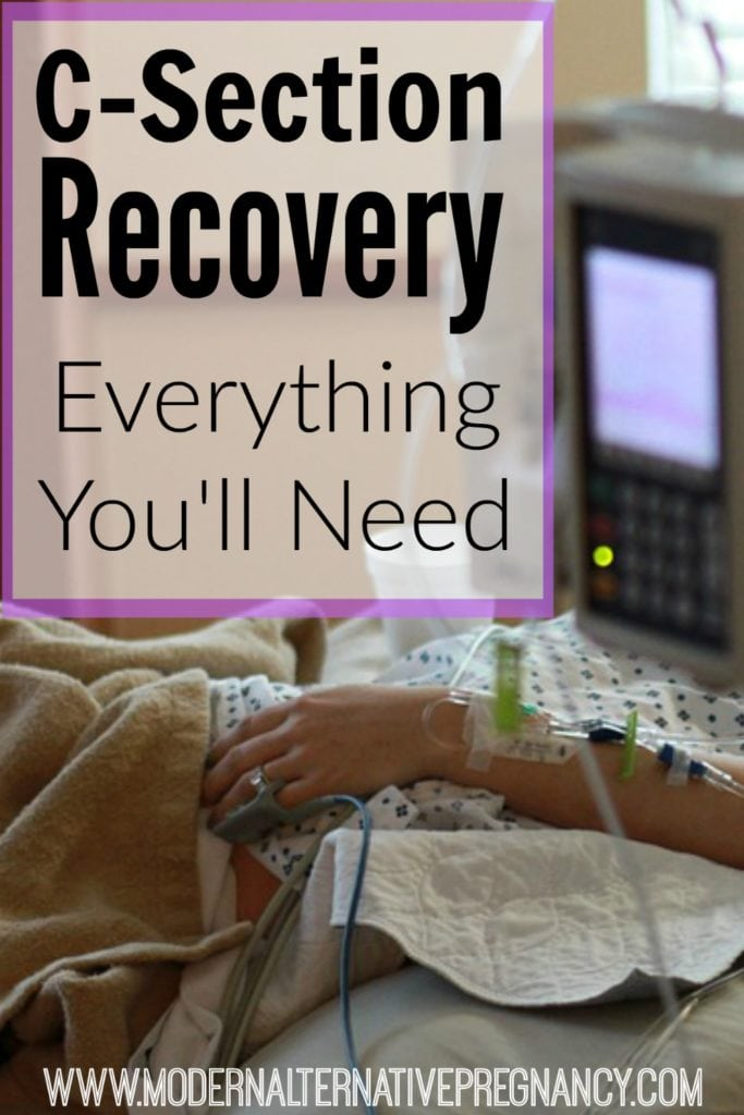C-Section Recovery Everything You'll Need