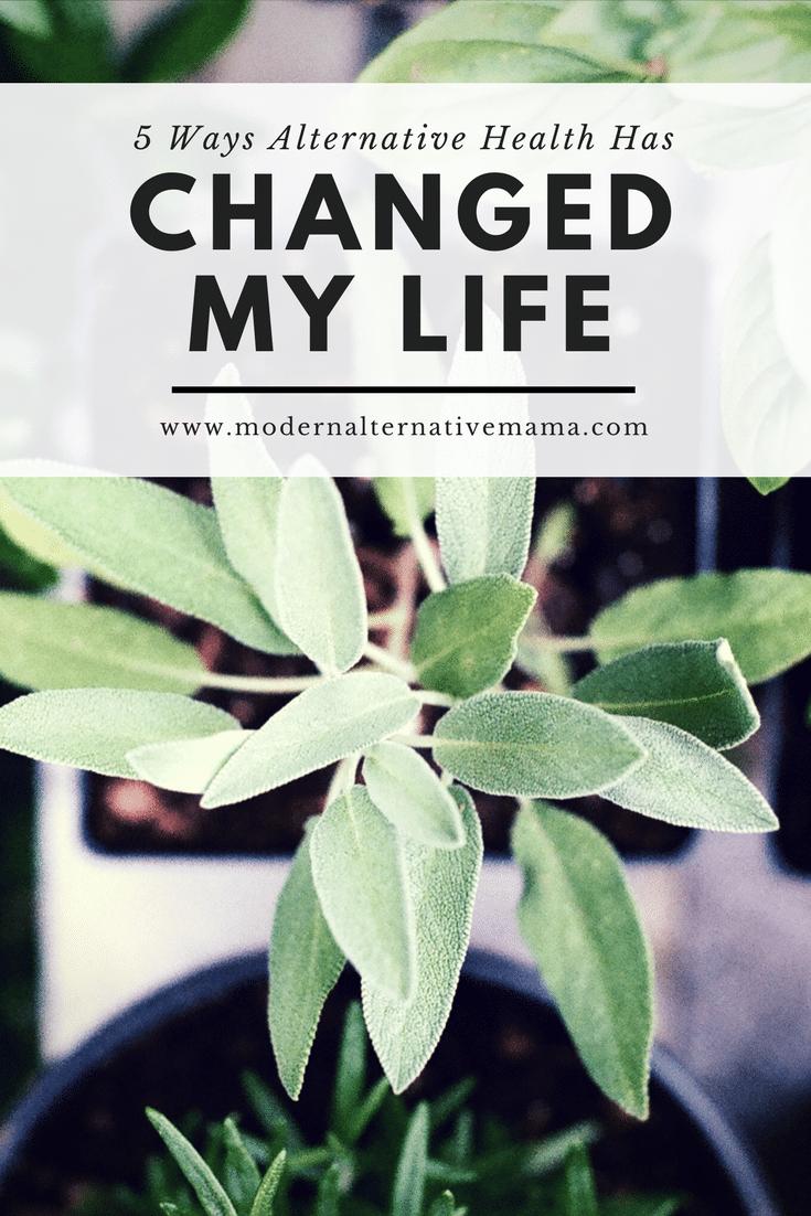alternative health changed my life