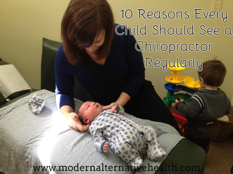 10 Benefits to Chiropractic Care for Children