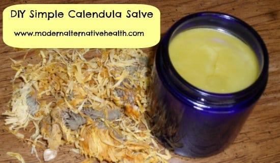 DIY Calendula salve