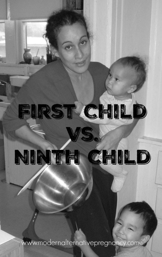 First Child vs. Ninth Child