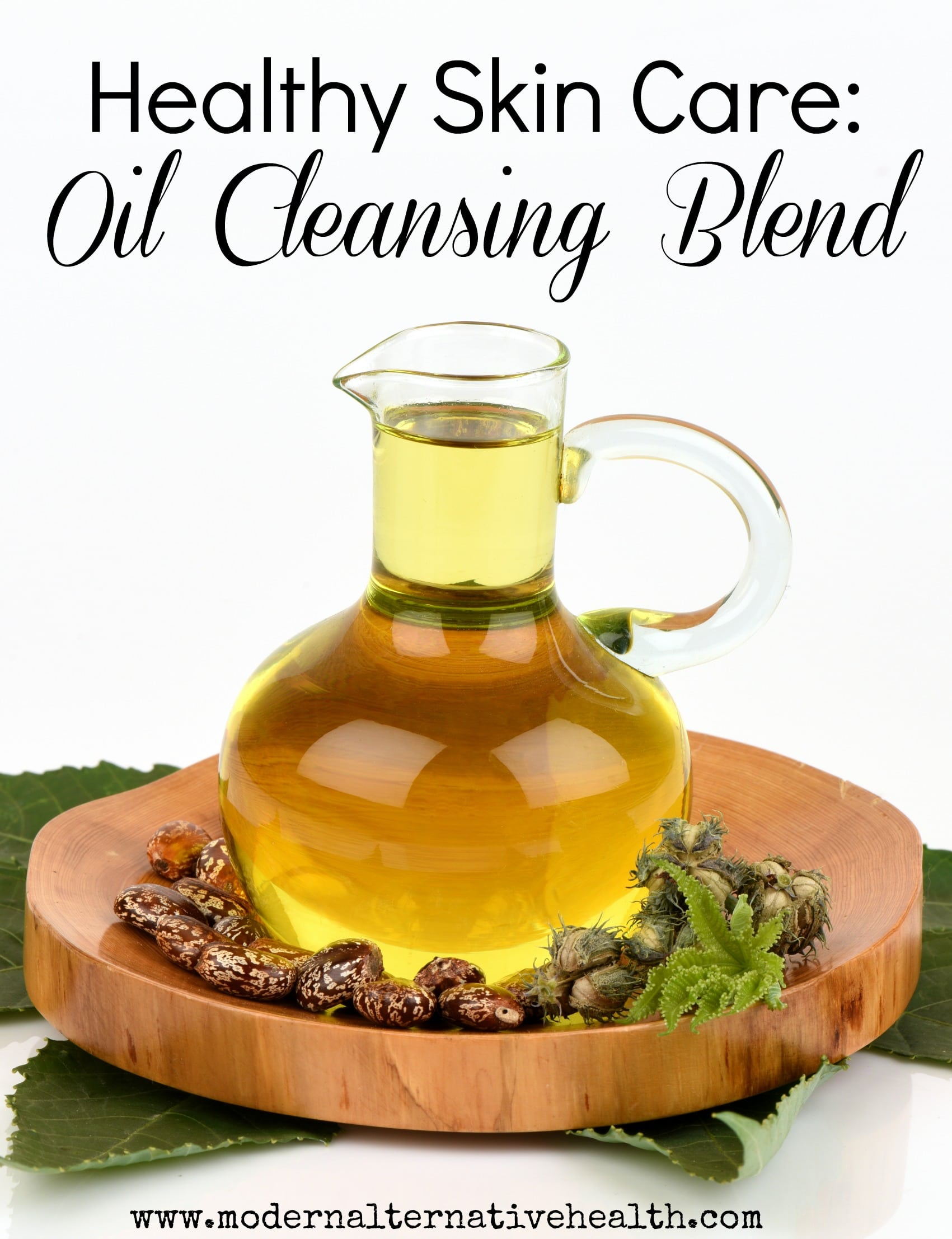 Healthy Skin Care Oil Cleansing Blend pinterest