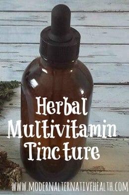 Herbal Multivitamin Tincture pinterest