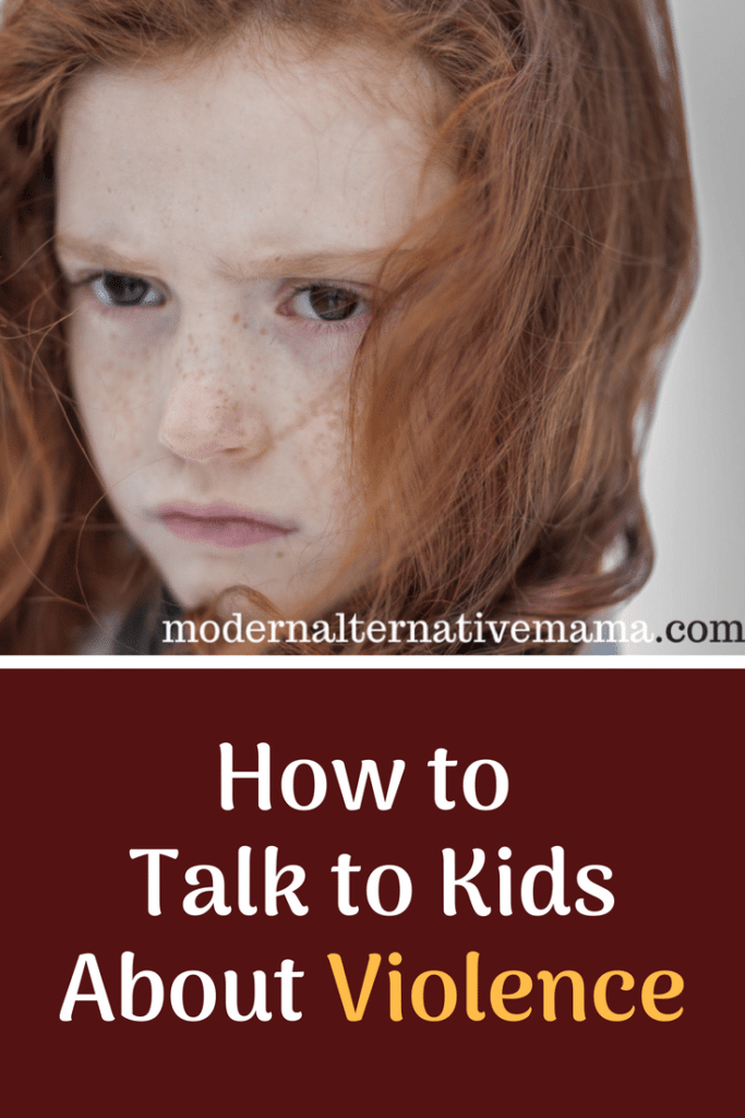 How to Talk to Kids about Violence