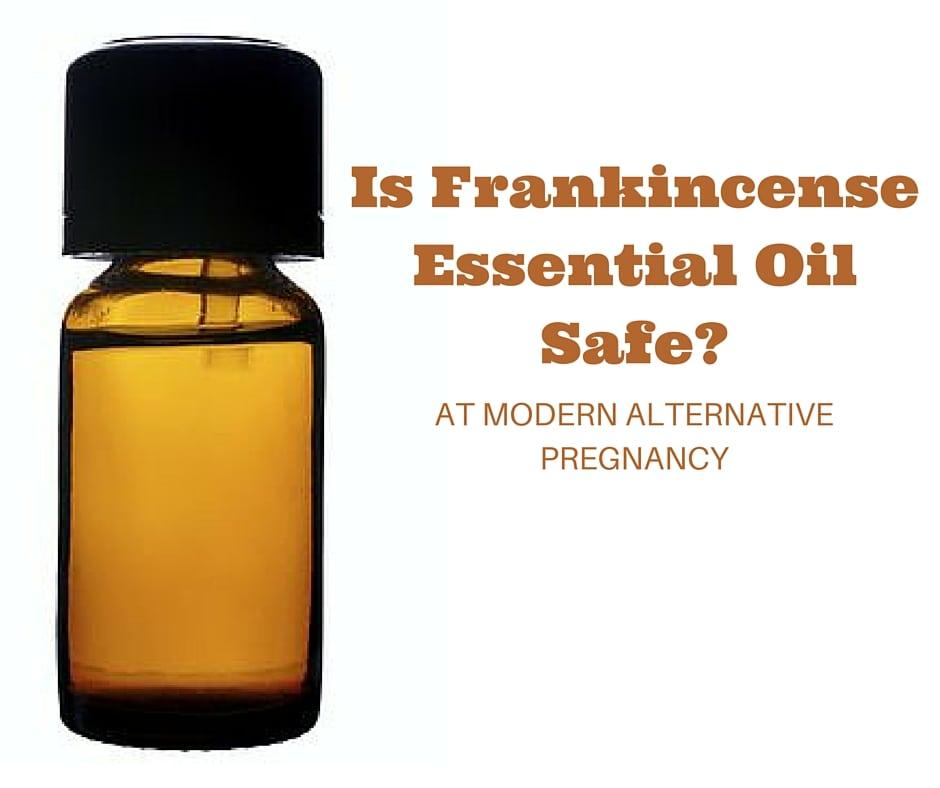 Is Frankincense Essential Oil Safe?