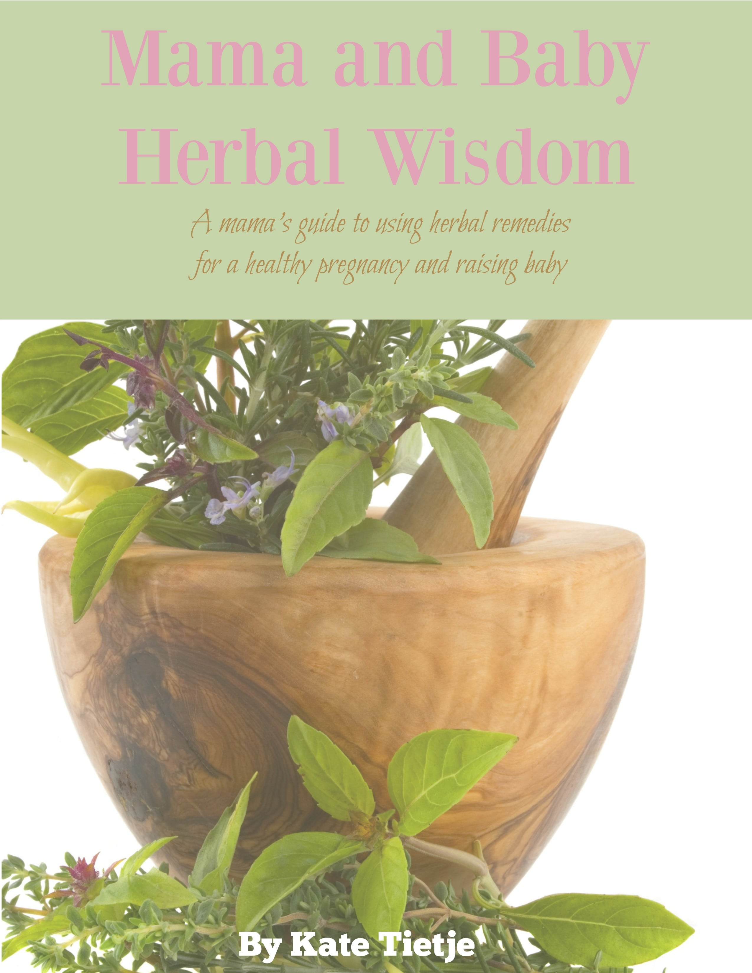 Mama and Baby Herbal Wisdom Cover