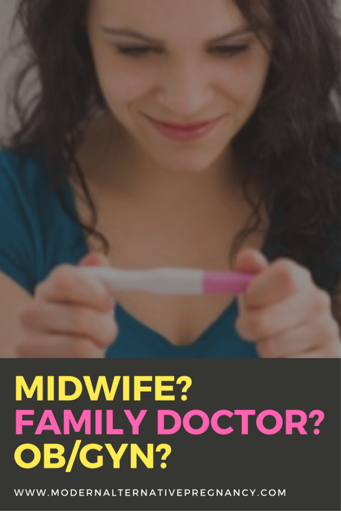 Midwife? Family Doctor? OB_GYN?