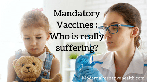 mandatory vaccines who is suffering?